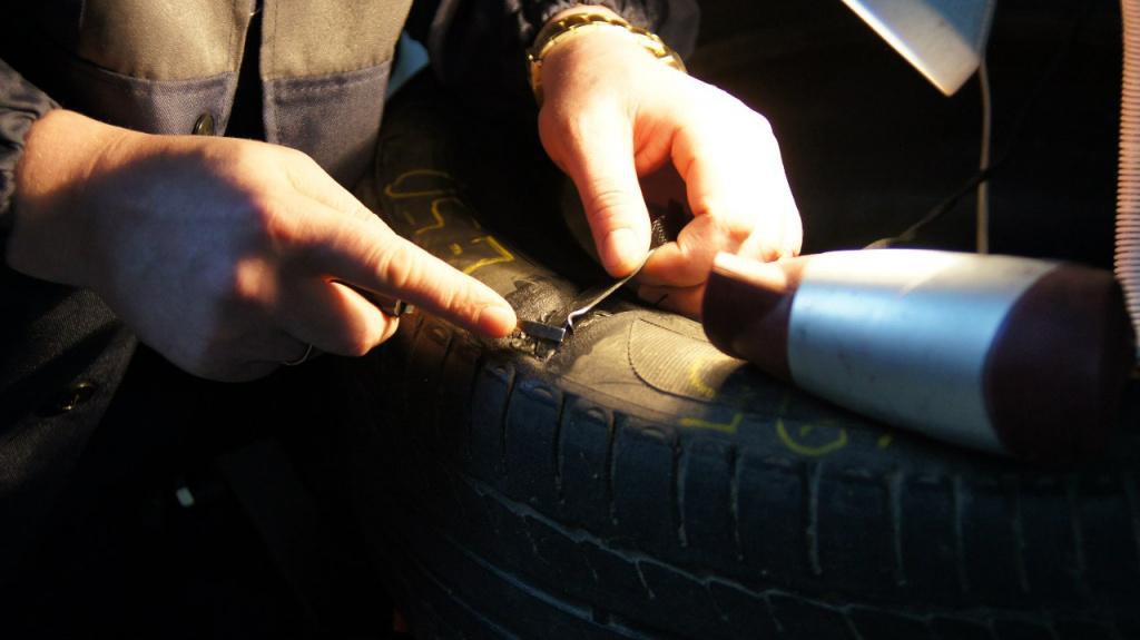 Ремонт автомобильных шин своими руками 516